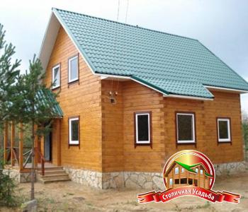Брусовые дома, цена строительства