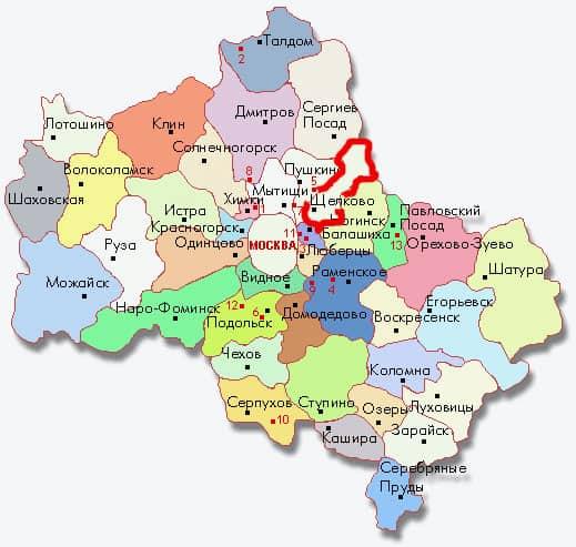 Срубы Щелково, дома из бруса в Щелково и Щелковском районе