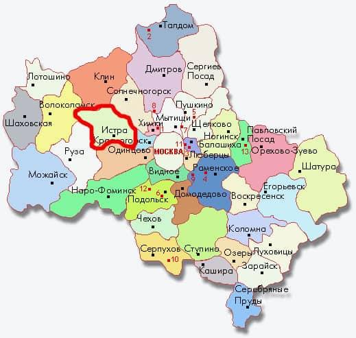Карта Москвы - moskarta.ru