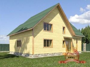 Деревянный домик для постоянного проживания из бруса