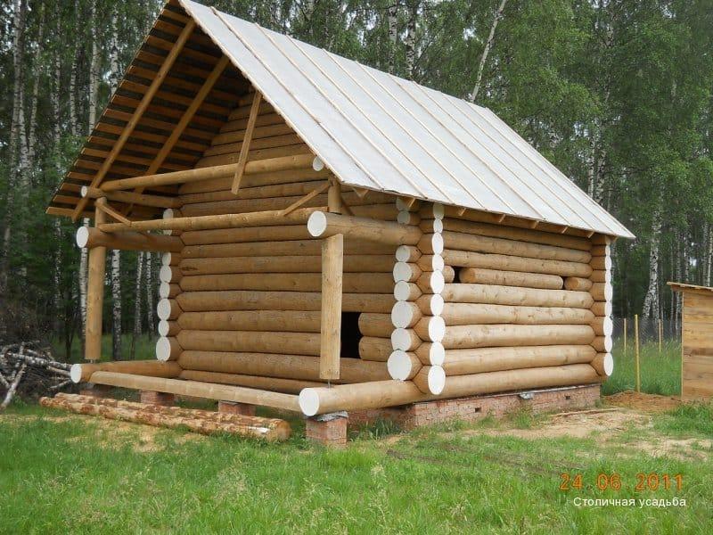 владимр готовые бани 3 на 4из бревна владимирская область
