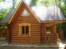 Готовый дом из бревна в Костроме