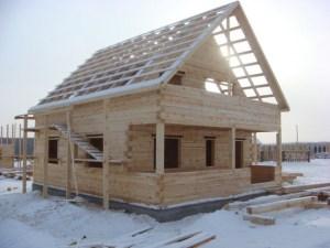 Строительство из зимнего леса с Древней Руси считается самым надежным вариантом