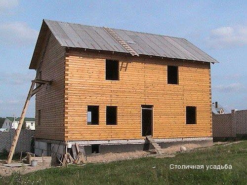 Строительство дома двухэтажного своими руками