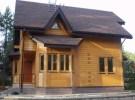 Пример проекта дома из бруса