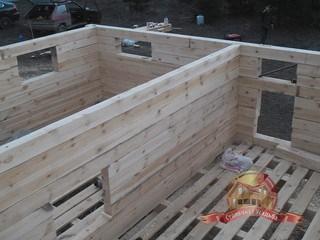 Большой опыт монтажа домов позволяет выполнять его в сжатые сроки