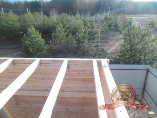 Точная геометрия сборки деревянного дома 6х6