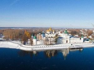 Вид на Кострому