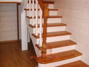 Первый марш лестницы, вид сбоку