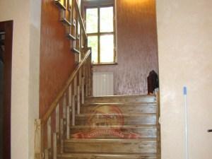 Деревянная лестница в частном доме, модель «Сьерра»