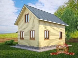Загородный дом с открытой террасой