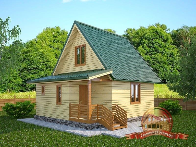 Строительство домов из бруса в Красноярске под ключ