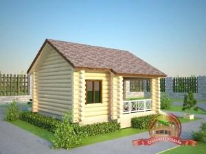 В деревянную баню можно установить как окна с деревянными рамами, так и окна ПВХ на этапе отделки