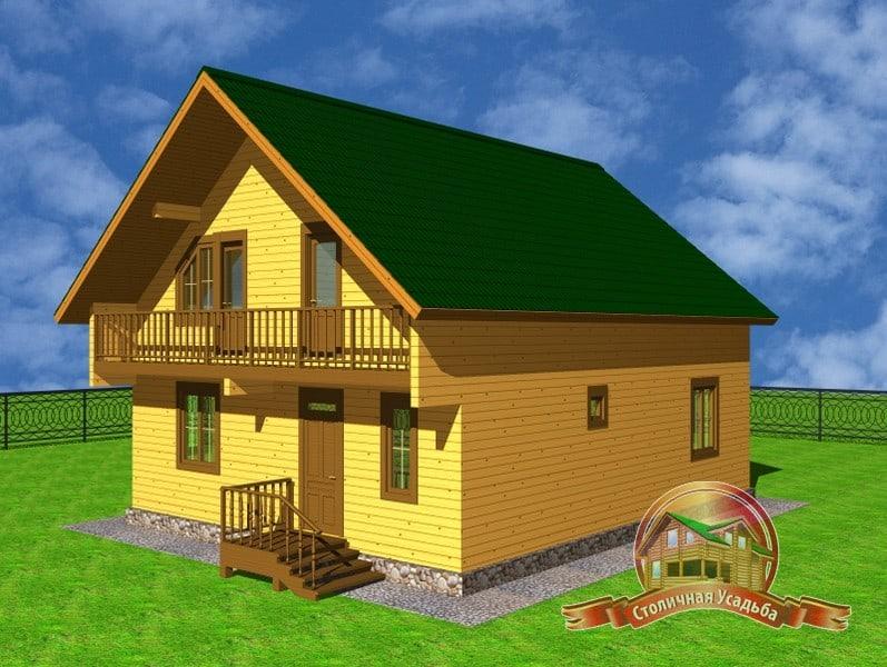 Технология постройки дома из бруса 150х150