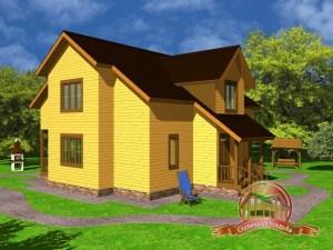 Дом из бруса 11х11.5 с с/у и котельной