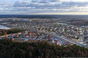 Один из уже заселенных поселков с развитой инфраструктурой на Осташковском шоссе
