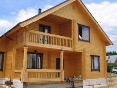 """Строительство """"под ключ"""" включает в себя также и установку дверей и окон в ваш деревянный дом"""