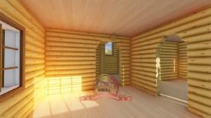 Пример внутреннего пространства дома из ОЦБ
