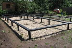 Первый этап в начале строительства любого дома - это сооружений фундамента