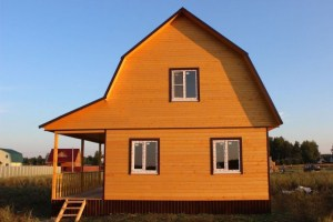 Для экономичного варианта строения из бруса возможен вариант уменьшение его площади, в этом случае затраты соответственно ниже