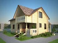 Проект гостевого дома-бани 5 х 9, СБ-9