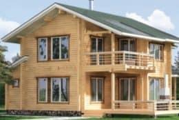 Строительство срубов домов из бревна и профилированного бруса в Ульяновском районе