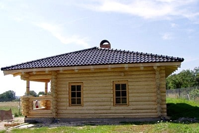 Строительство сруба из бревна ручной рубки в Кувшиново, Кувшиновский район