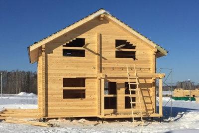 Строительство срубов и домов из бруса в п. Вача и Вачском районе