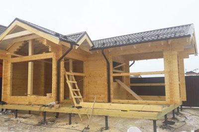 Строительство срубов и домов из бруса в п. Воскресенское и Воскресенском районе