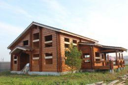 Срубы и дома из бруса в Выксе и Выксунском районе