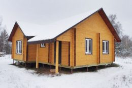 Срубы и дома из бруса в Лысково и Лысковском районе