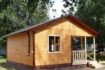 Строительство срубов и домов из бруса в Чкаловске и Чкаловском районе