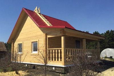 Строительство деревянных домов в Любиме