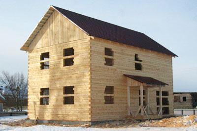 Строительство деревянных домов в Рыбинске