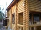 Пример бревенчатого дома