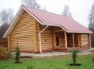 Небольшой бревенчатый дом в Костроме