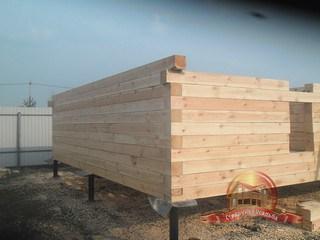 Строим из качественной древесины из Чухломского края!