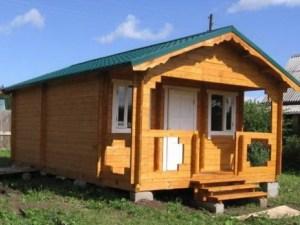 Дом из бруса в Костроме