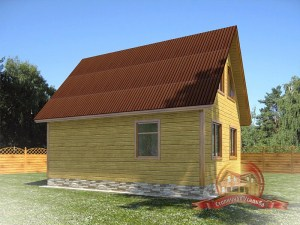 Большой дом для постоянного проживания большой семьи