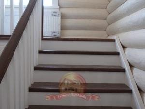 Подъем на 2 этаж в деревянном доме