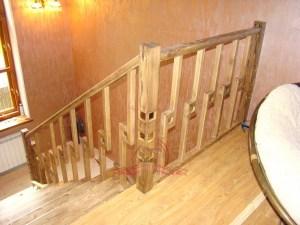 Ограждение на втором этаже частного дома