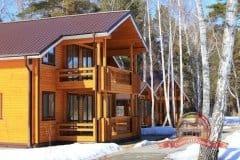 Срубы деревянных домов из бруса в Москве