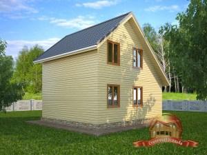 Дом на даче с отличной планировкой