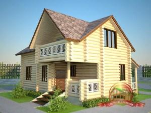 Гостевой дом-баня центральный вид