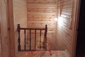 Ограждение лестницы на 2 этаже