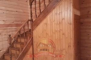 Монтаж лестницы завершен