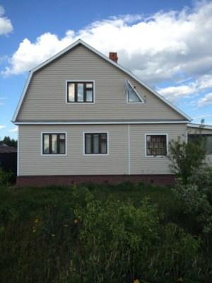 Отмостка деревянного дома - дополнительный декоративный элемент