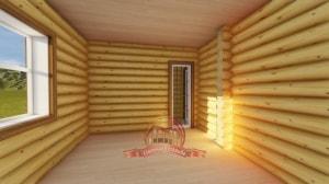 Обустройство внутреннего пространства бани