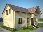 Проект гостевого дома-бани 6 х 10, СБ-9-1