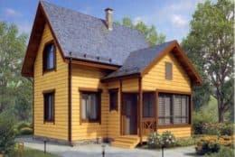 Проект деревянного дома для строительства в Козельском районе с доставкой